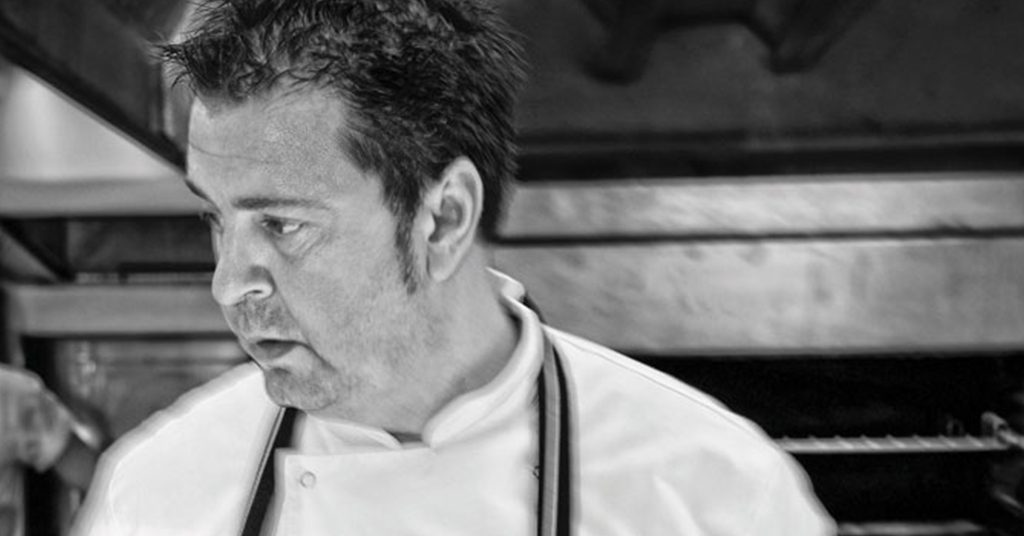 Dez Turland chef in kitchen | Beachside Grill Winter Gastronomy Evening